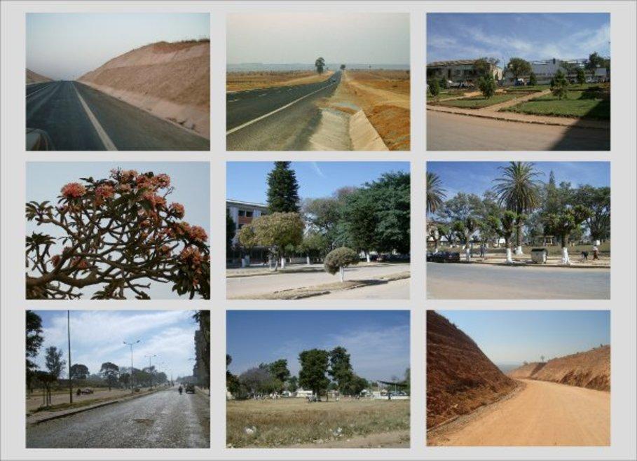requalificação paisagistica da provincia do huambo