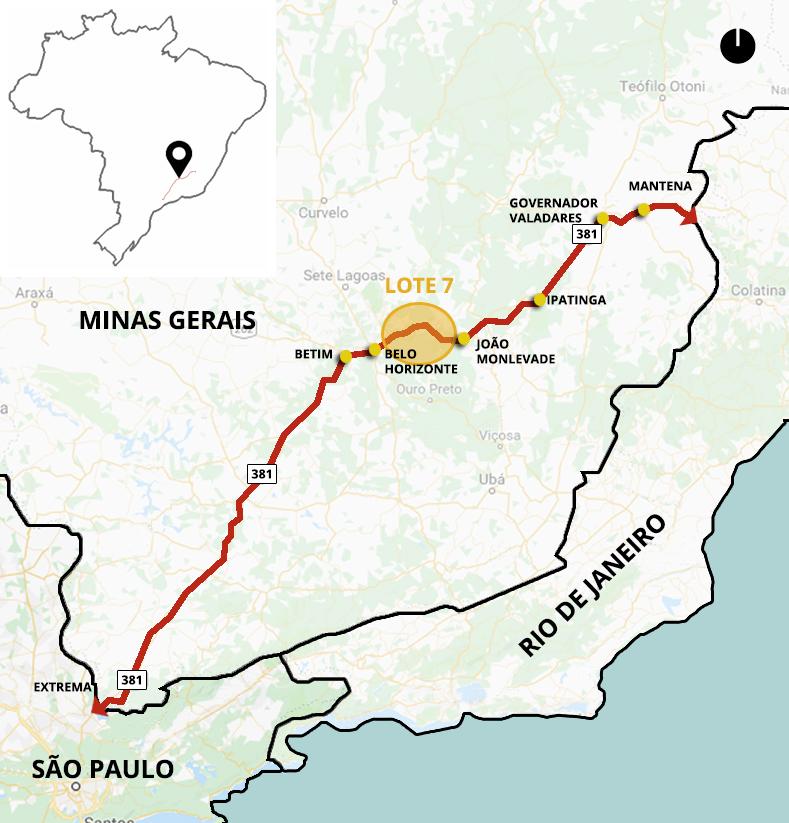 Minas Gerais, Brasil – MAPA